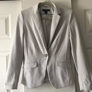 H&M gray blazer size 4